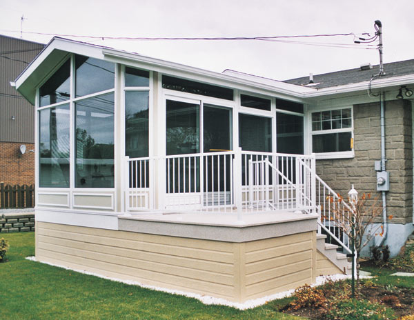 Duralum Sunrooms Enclosed Patios Lattice Insulated Covers